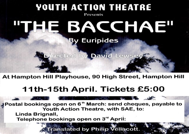 the bacchae the human psyche Dionysus crumbles pentheus's palace, symbolically crumbling feeble mortal authority, and reflecting how the gods are more powerful than human constructs from the possessed women on mount cithaeron, to pentheus's disintegrating psyche, to dionysus's outsized need for revenge, there are myriad ways in which.