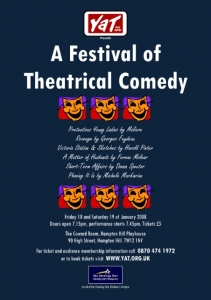 A Festival of Theatrical Comedy