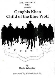 Genghis Khan - Child of the Blue Wolf