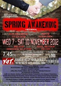 Spring Awakening - A New Musical
